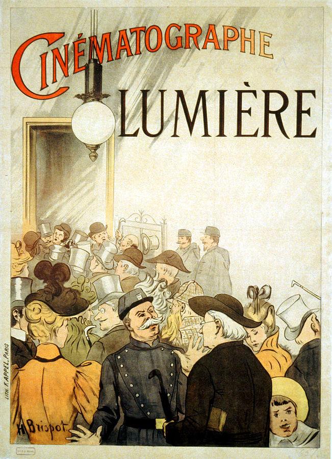 """Locandina cinematografo Lumière"""