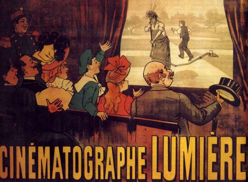 """""""Locandina per il cinematografo Lumière"""""""
