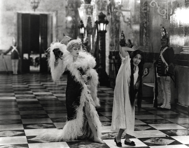 """""""Gloria Swanson nel film La regina Kelly (1928) di Erich von Stroheim."""""""