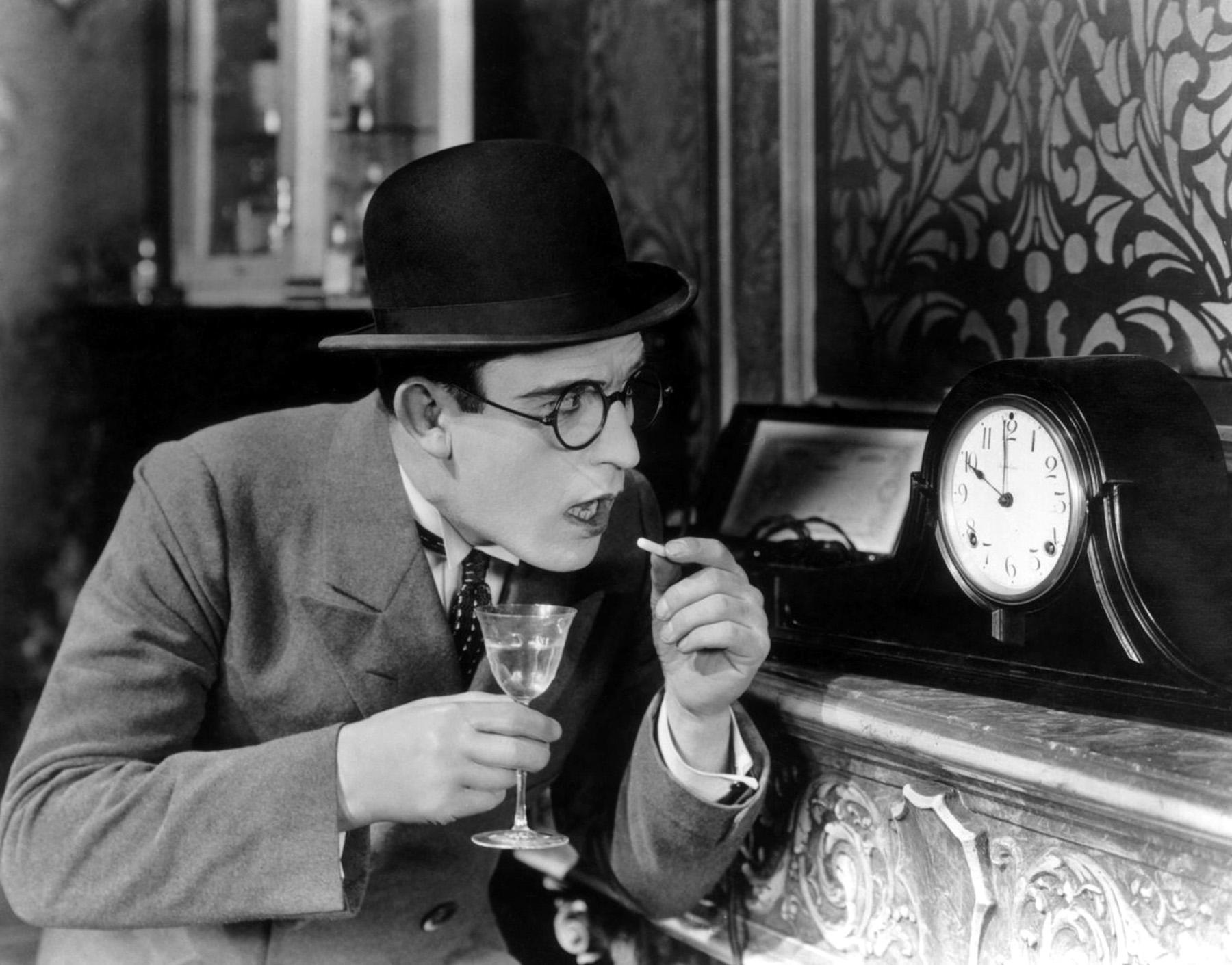 """""""Harold Lloyd nel film High & Dizzy di Hal Roach (1920)"""""""
