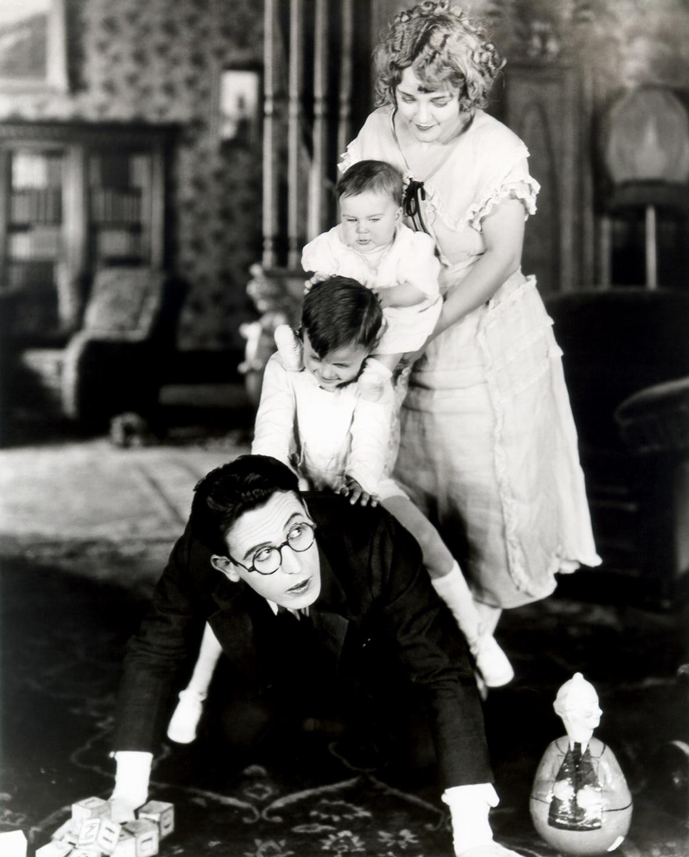 """Harold Lloyd ne film I Do (1921) di Hal Roach"""