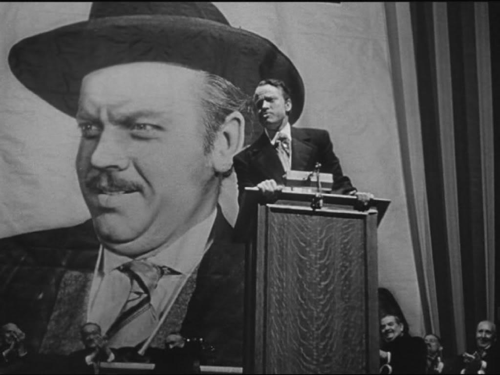 """""""Scena del comizio di Kane dal film Quarto Potere"""""""