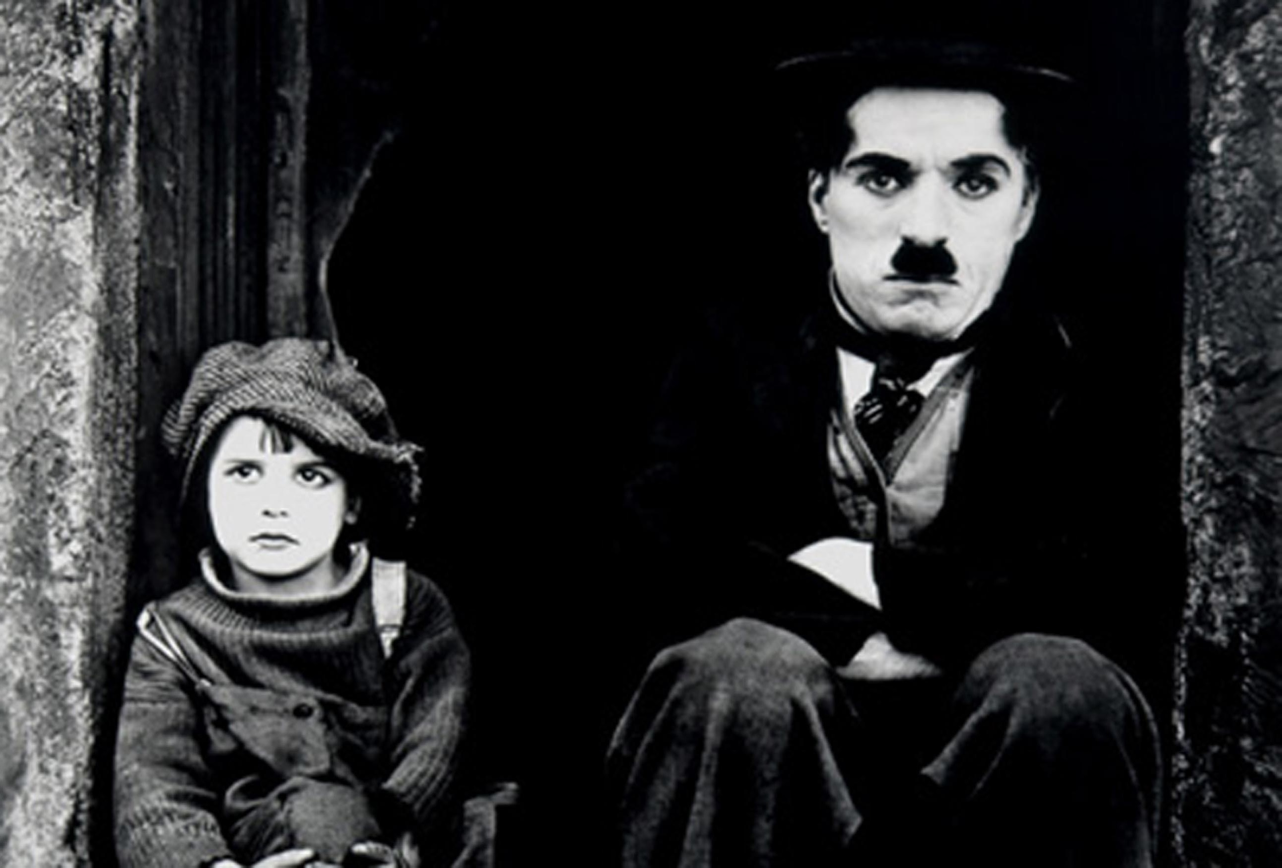 """""""Charlie Chaplin e Jackie Coogan in Il Monello (1921)"""""""