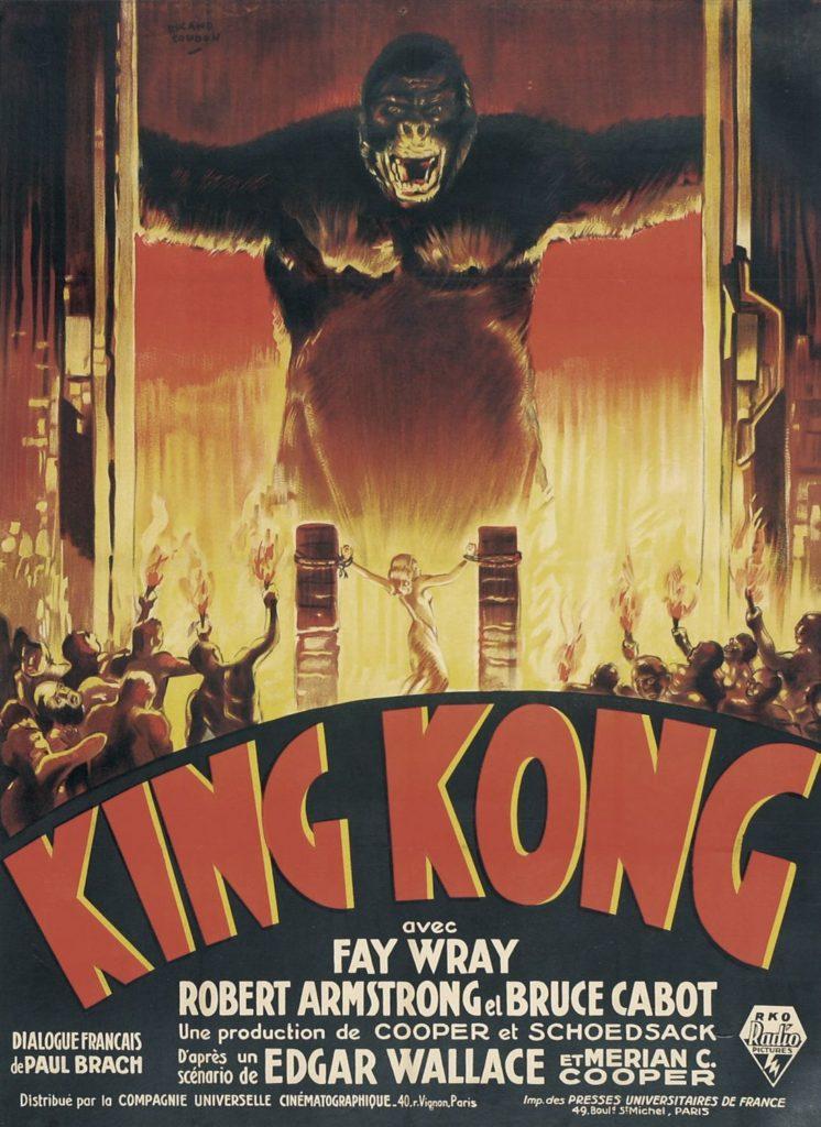 """""""Locandina del film King Kong"""""""