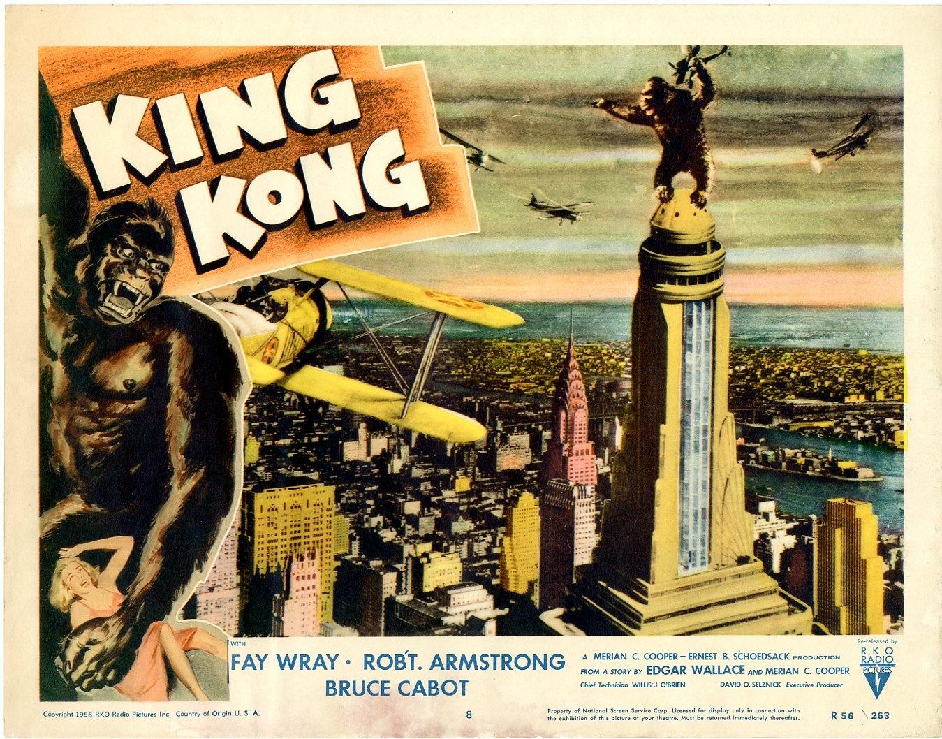 """""""Locandina del film King Kong """""""