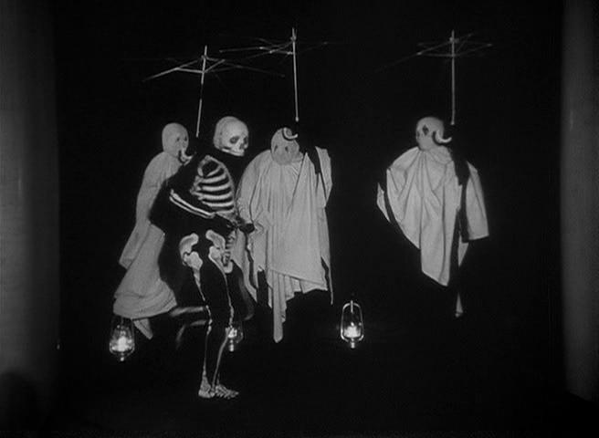 """""""Scena della danza macabra in La regola del gioco"""""""