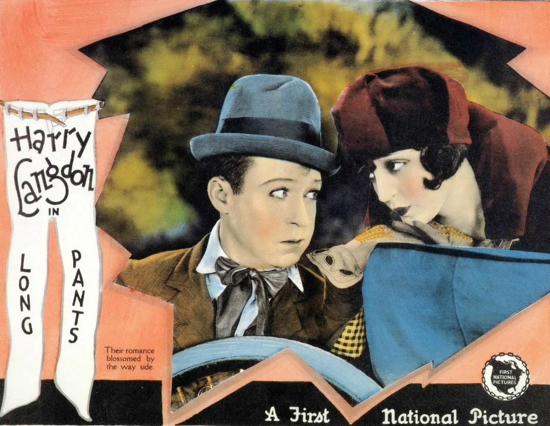 """""""Locandina del film Long Pants (1927) di Frank Capra con Harry Langdon"""""""