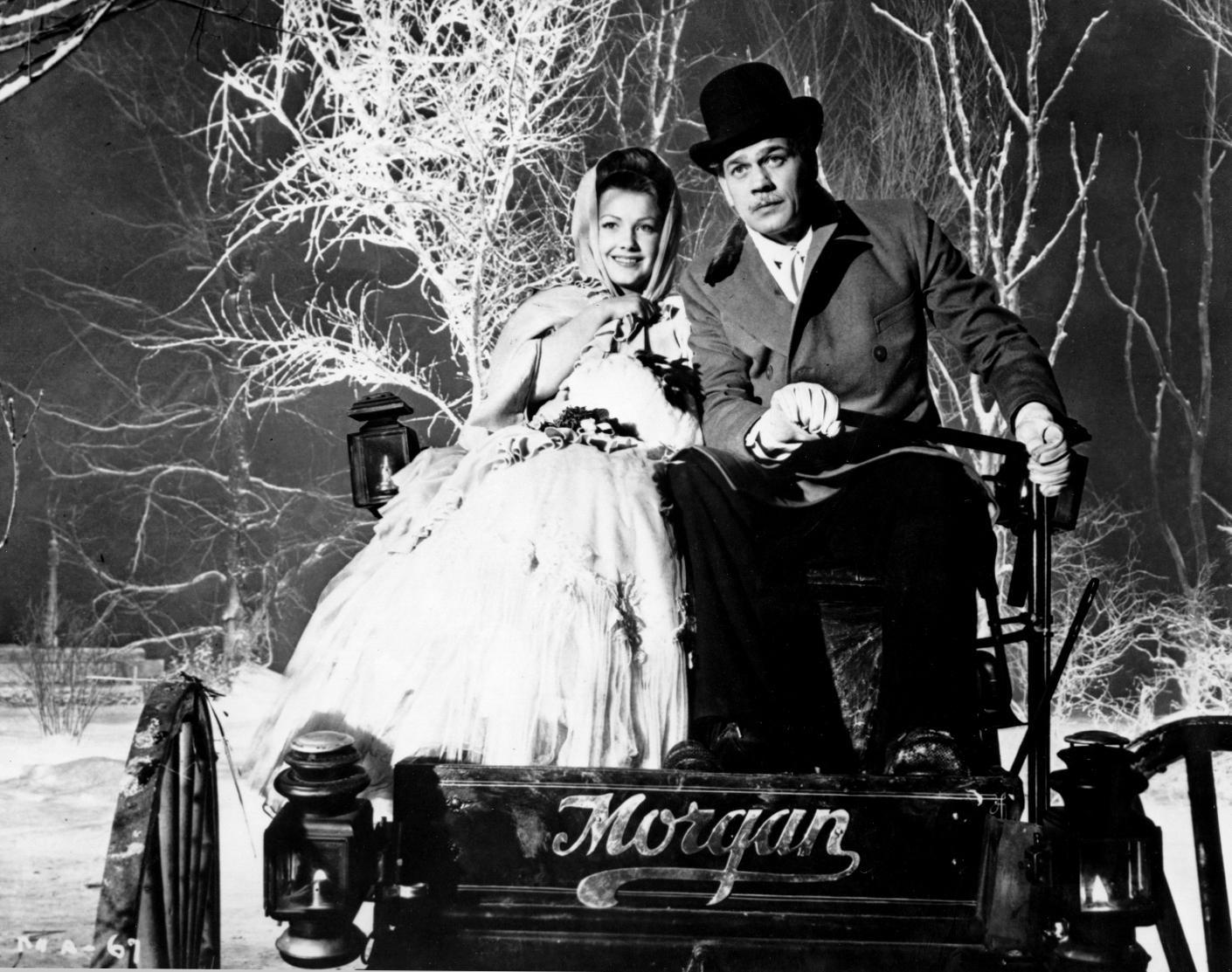 """""""immagine dal film L'orgoglio degli Amberson (1942)"""""""