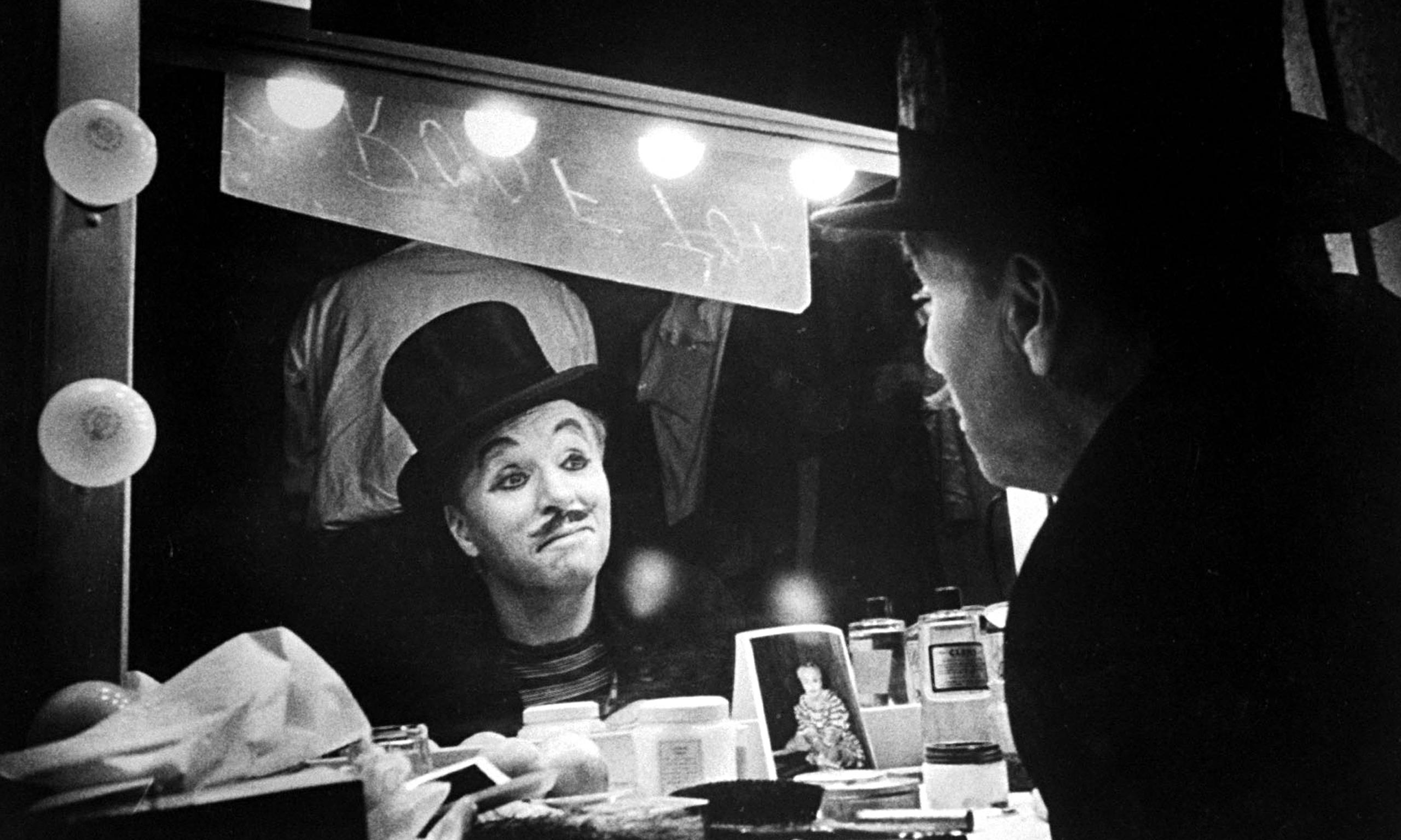 """""""Charlie Chaplin in Luci della Ribalta"""""""