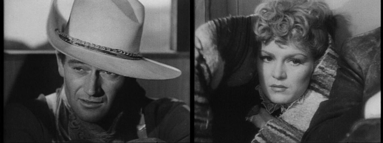 """Immagine dal film Ombre Rosse (1939) di John Ford."""