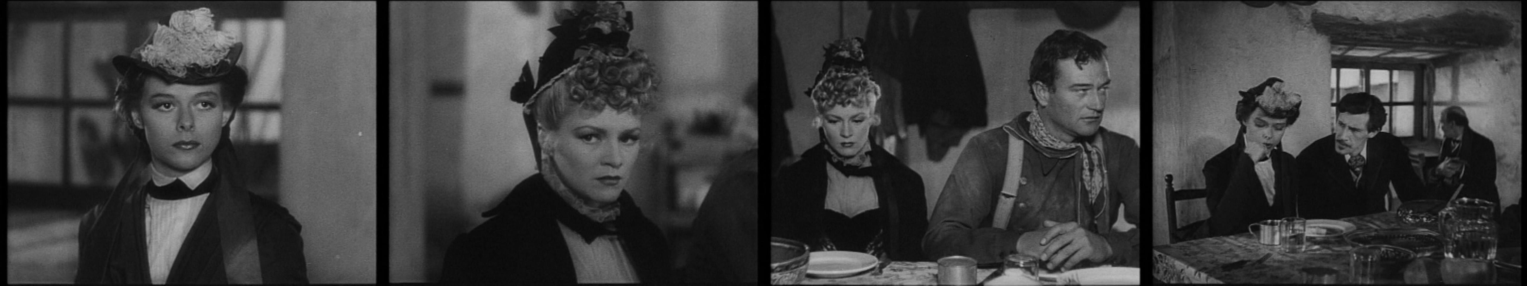"""Immagini dal film Ombre Rosse (1939) di John Ford."""